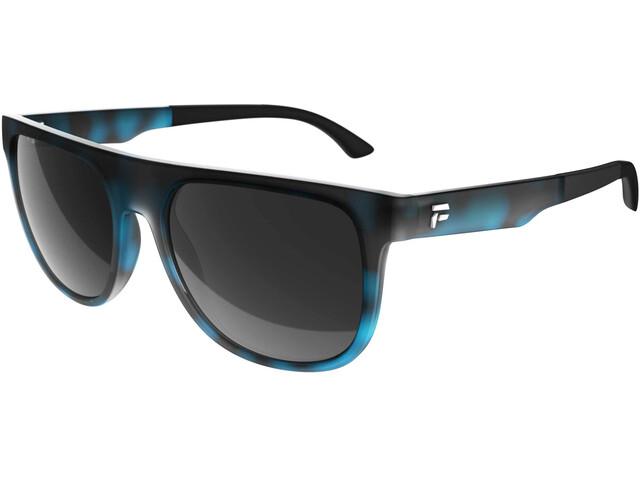 Flaxta F Clan Sunglasses, Turquesa/negro